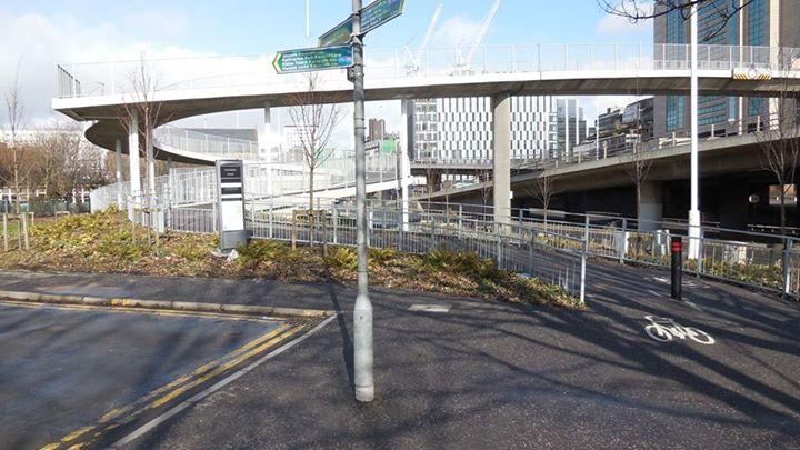 """Glasgow's """"Bridge to Nowhere"""""""