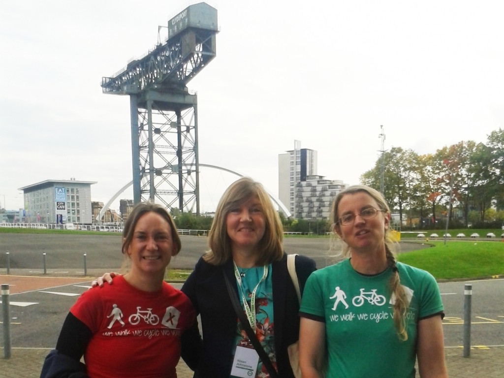 Suzanne Forup, Alion Johnstone and Sally Hinchcliffe