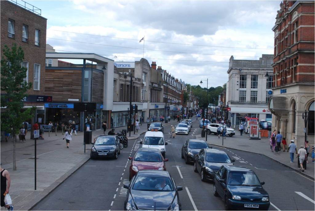 Enfield Town now