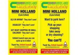 Save our Green Lanes posters