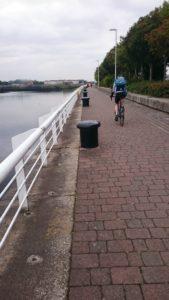 Glasgow cycle path