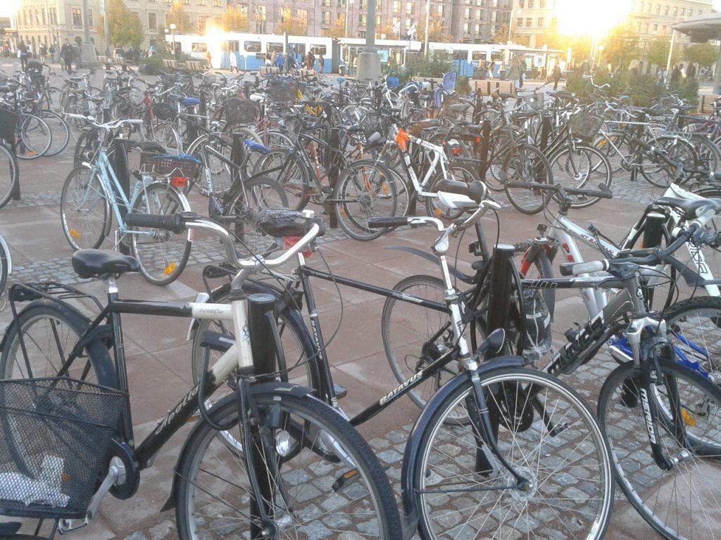 Bike parking Gothenburg