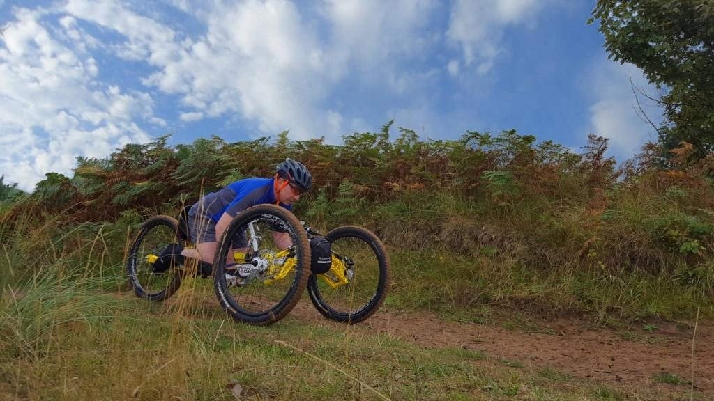 Mountain Handcycling