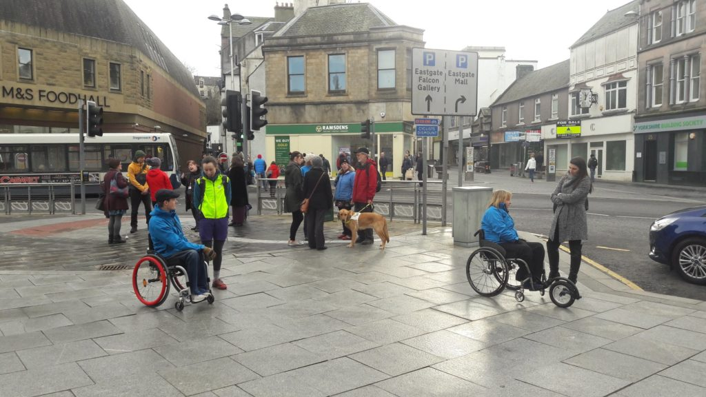 Conversations going on in Inverness